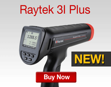 The NEW Raytek 3I Plus Series is here, buy now.