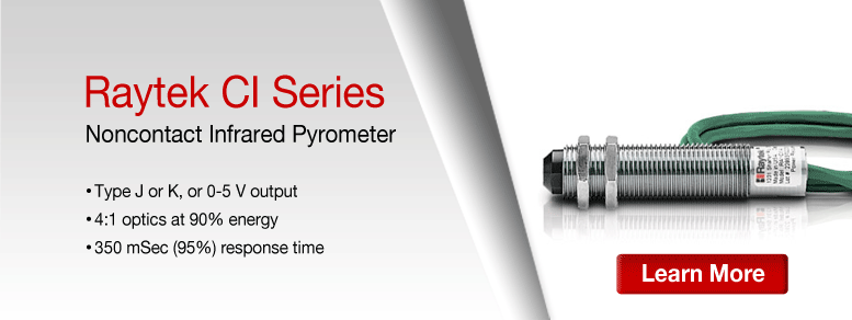 Learn More about the Raytek CI Compact IR Sensors Series