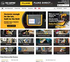 Fluke-Direct.com - Carrying a full selection of Fluke Test and Measurement products