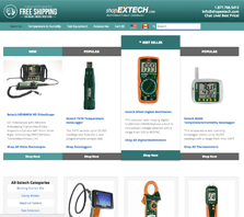 ShopExtech.com - Extech Instruments Distributors