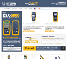 ShopFlukeNetworks - Carrying a wide range of network testing tools from Fluke Networks
